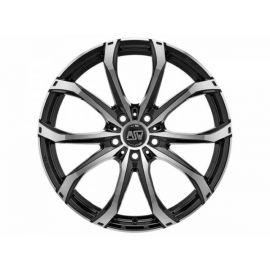 MSW 48 GLOSS BLACK FULL POLISHED Wheel 9x21 - 21 inch 5x108 bold circle - 8240
