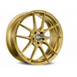 OZ LEGGERA HLT RACE GOLD Wheel 8x18 - 18 inch 5x100 bold cir - 10181