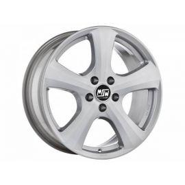 MSW 19 FULL SILVER Wheel 6x14 - 14 inch 5x100 bold circle - 7349