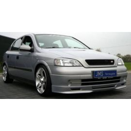 JMS front lip spoiler Racelook Opel Astra G Flh./Car.