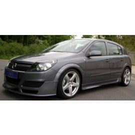 Opel Astra H JMS side skirt set Racelook all models without estate and GTC