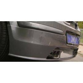 Opel Astra H & GTC Rear muffler with adustable sound 4x76mm straigt incl. Turbo +GTC