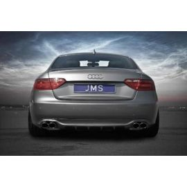 Rear apron with diffuser-stripes Racelook jms Audi A5/S5