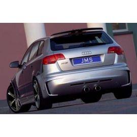 Rear apron Racelook Audi A3 8P Sportback