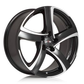 Alutec Shark racing black Wheel - 7 0x17 - 4x100