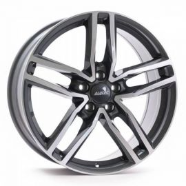 Alutec Ikenu metal-grey Wheel - 6,5x16 - 5x105 - 1200