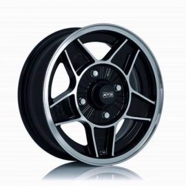 ATS Classic diamond black Wheel 5 5x15 - 15 inch 4x130 bolt circle