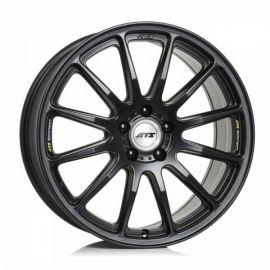 ATS Grid racing-black part polished Wheel 8,0 x 18 - 18 inch 5x114,3 bolt circle - 2117