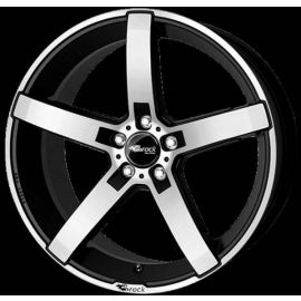 Brock B35 black mat Wheel - 7.5x17 - 5x114 3
