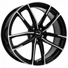 Brock B38 black shiny Wheel - 8x19 - 5x114,3 - 3477