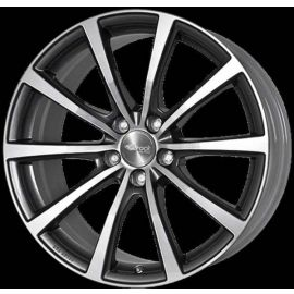 Brock B32 grey Wheel - 8.5x20 - 5x115