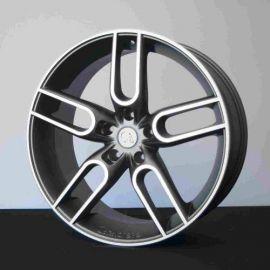 Caractere CW1 grafite polished Wheel 11x22 - 3741