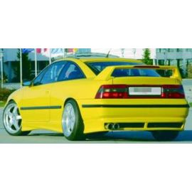 "rear apron flat version for end pipe "" max. 80mm Rieger Tuning Opel Calibra"