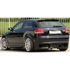 Rear apron rieger tuning Audi A3 8P