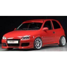 Front splitter for frontbumper 00058820 Opel Corsa B