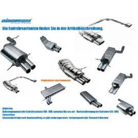 Eisenmann central muffler stainless steel - Golf/Limousine/ sedan