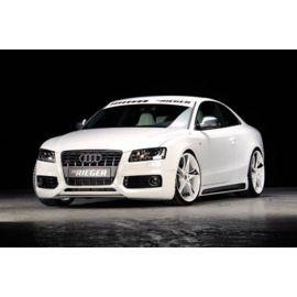 Front splitter for front lip spoiler Audi A5/S5