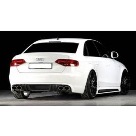 Rear window cover rieger Audi A4 B8 ab 07