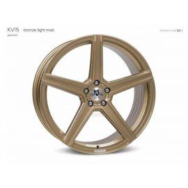 MB Design KV1S bronze light mat Wheel 9x21 - 21 inch 5x115 bolt circle - 6817
