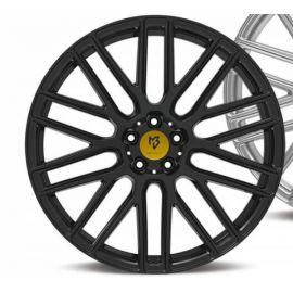 MB Design KV4 black shiney Wheel 9x20 - 20 inch 5x108 bolt circle - 6571