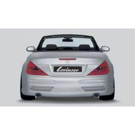 Lorinser rear muffler Mercedes SL R 230