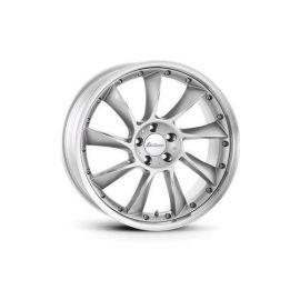 Lorinser LM 6 silver, polished edge Wheel 9,5x19 - 5527