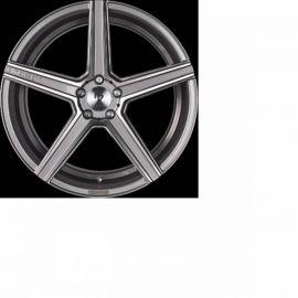 MB Design KV1 DC grey shiny polished Wheel 11x22 - 22 inch 5x112 bolt circle - 6892