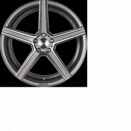 MB Design KV1 DC grey shiny polished Wheel 10x22 - 22 inch 5x108 bolt circle - 6994