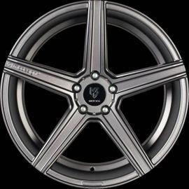 MB Design KV1 DC mattgrey Wheel 11x22 - 22 inch 5x112 bolt circle - 6889