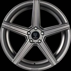 MB Design KV1 DC mattgrey Wheel 10x22 - 22 inch 5x108 bolt circle - 6995