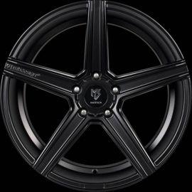 MB Design KV1 DC matt black Wheel 11x22 - 22 inch 5x112 bolt circle - 6886