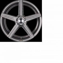 MB Design KV1S shiney grey polished Wheel 9x21 - 21 inch 5x115 bolt circle - 6814