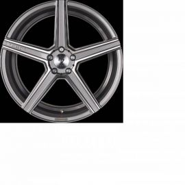 MB Design KV1S DC shiney grey polished Wheel 10,5x21 - 21 inch 5x120 bolt circle - 6841