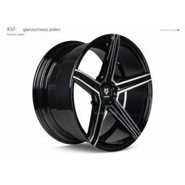 MB Design KV1S black shiney polished Wheel 9x21 - 21 inch 5x115 bolt circle - 6816