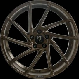 MB Design KV2 bronze silk matt Wheel 8.5x20 - 20 inch 5x130 bolt circle - 6725