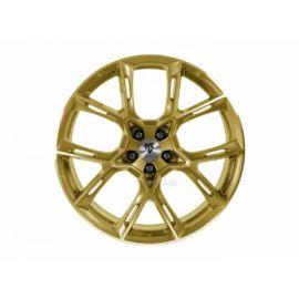 MB Design KX1 shiny gold Wheel 9x21 - 21 inch 5x115 bolt circle - 6823