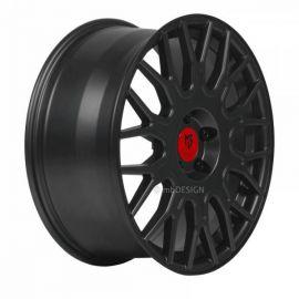 MB Design LV2 matt black Wheel 8,5x19 - 19 inch 5x108 bolt circle - 6400