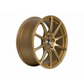 MB Design MF1 gold mat Wheel 7,5x17 - 17 inch 5x114,3 bolt circle - 6232