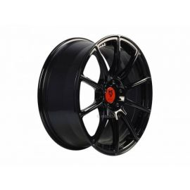 MB Design MF1 black shiney Wheel 7,5x17 - 17 inch 5x114,3 bolt circle - 6231