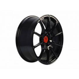 MB Design MF1 black shiney Wheel 9x19 - 19 inch 5x112 bolt circle - 6442