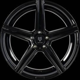 MB Design KV1 DC black shiny Wheel 11x22 - 22 inch 5x112 bolt circle - 6888