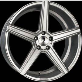 MB Design KV1 silver Wheel 10x22 - 22 inch 5x120 bolt circle - 6919