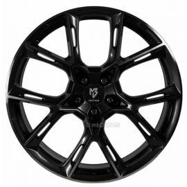 MB Design KX1 shiny black Wheel 9x21 - 21 inch 5x115 bolt circle - 6820