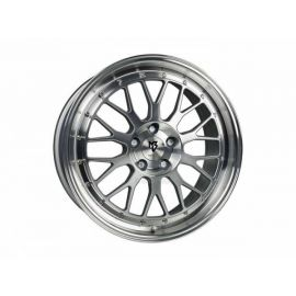 MB Design LV1 silver polished Wheel 8.5x19 - 19 inch 5x115 bolt circle - 6489