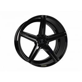 MB Design KV1 black shiny Wheel 9.5x19 - 19 inch 5x120 65 bolt circle
