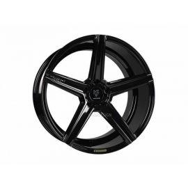 MB Design KV1 black shiny Wheel 12x20 - 20 inch 5x120 65 bolt circle