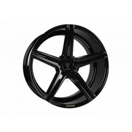 MB Design KV1 black shiny Wheel 9.5x19 - 19 inch 5x120,65 bolt circle - 6523