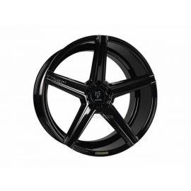 MB Design KV1 black shiny Wheel 12x20 - 20 inch 5x120,65 bolt circle - 6694