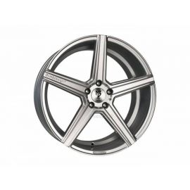 MB Design KV1 silver Wheel 9x20 - 20 inch 5x127 bolt circle - 6706