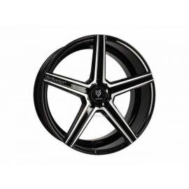 MB Design KV1 DC black shiny polished Wheel 11x22 - 22 inch 5x112 bolt circle - 6890